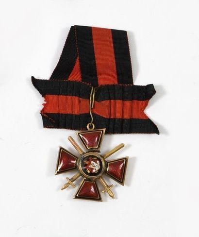 Croix de 3e classe de l'ordre de Saint-Vladimir...