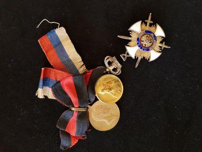 Croix de chevalier de l'ordre de l'Étoile...