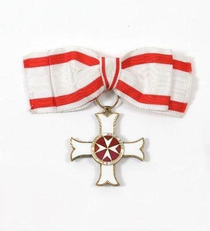 Croix de chevalier de l'ordre de Malte en...