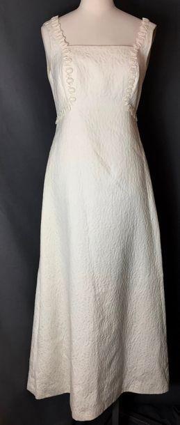 Madeleine VRAMANT, circa 1950  Robe du soir...