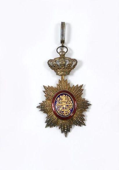 Croix de commandeur de l'ordre royal du Cambodge...