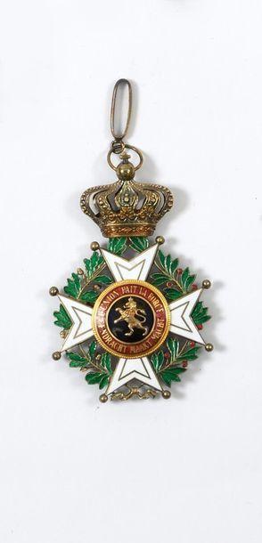 Croix de commandeur de l'ordre de Léopold...