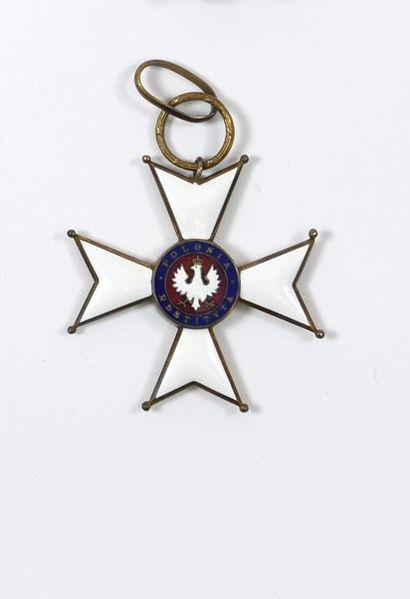 Croix de commandeur de l'ordre de la Pologne...