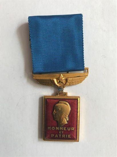 France. MEDAILLE d'Aéronautique de 1945 en...