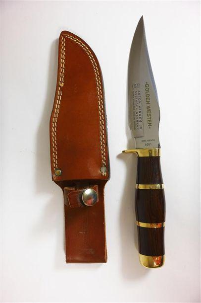 ANTON WINGEN JR, Solignen, Allemagne  Couteau...