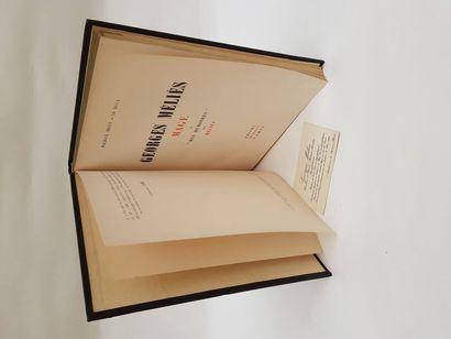 Livre GEORGES MELIES Edition 1945 PRISMA...