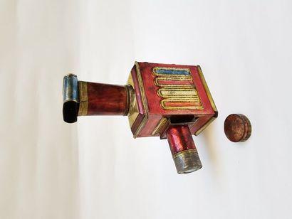 Lanterne magique polychrome MEDAILLON Auguste...
