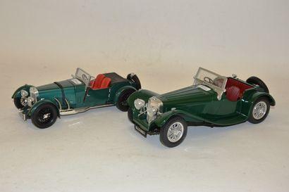- 2 voitures de sport en bel état échelle...