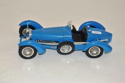BUGATTI type 59 de 1934, en bleu, métal par...