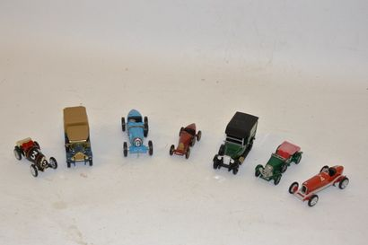 (7) voitures diverses LESNEY Matchbox, Brumm,...