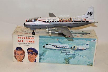 TOMYIAMA, avion quadrimoteur, Viscount Airline,...