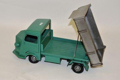 JRD, camion Citroën, HY, tôle verte, benne,...