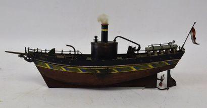 SCHOENNER, bateau fluvial à vapeur vive,...