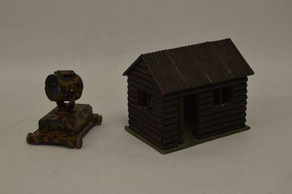 Fabrication allemande, cabane en bois on...