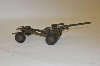 ELASTOLIN, grand canon sur pneu, 40 cm, très...