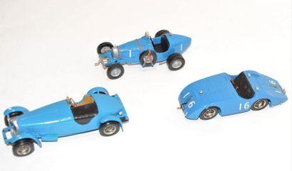 (3) RADLETT, Grand prix modèle, 1 Bugatti...