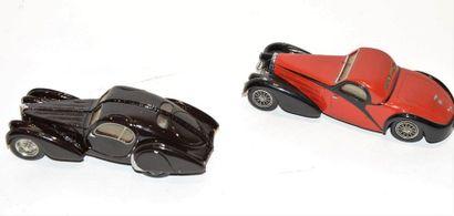 (2) CCCF et IDEM. 1 Bugatti Atlantic CCCF...