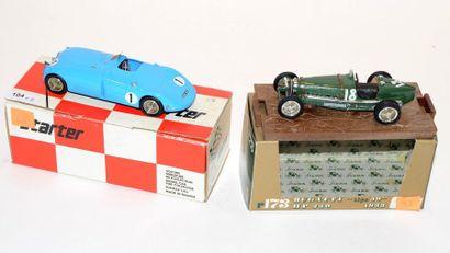 (2) STARTER , 1 Bugatti 57 Le Mans de 1939...