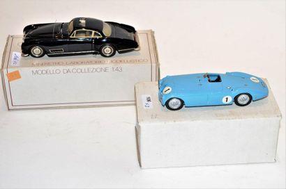 (2) 1 MINI RETRO, Bugatti type 50s par Saoutchik...