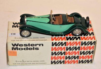 WESTERN MODELS, Bugatti type 41 Royale (Esders)...