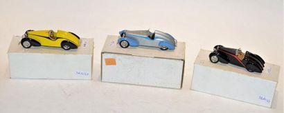 (3) VROOM, 1 Bugatti Grand Raid de 1934 1er...