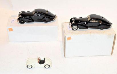 (2) VROOM, 1 Bugatti type 64 Coupé de Proto...