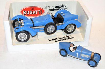 BBURAGO, 1 Bugatti type 59 de 1934 en métal...