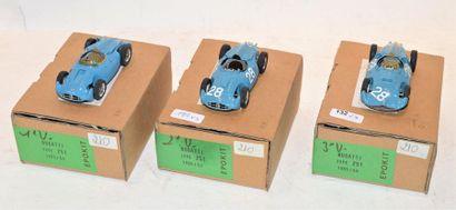 (3) EPOKIT, 1 Bugatti type 251 version 1,...