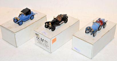 (3) O.M. 1 Bugatti type 13 chassis 432 de...
