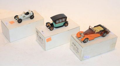 (3) O.M. 3 Bugatti type 13, Grand prix de...