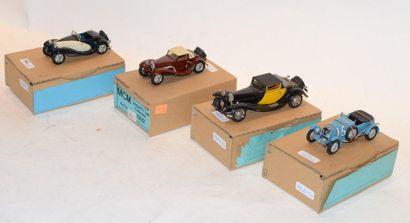 (4) M.C.M. 1 Bugatti type 50 Landaulet de...