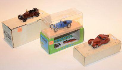 (3) ELIGOR, 1 Bugatti type 35 B Course de...