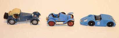 (3) O.M. 1 Bugatti type 13 Chassis 805 de...