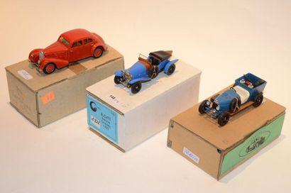 (3) C.C.C. 1 Bugatti type 23 Brescia Crossley...