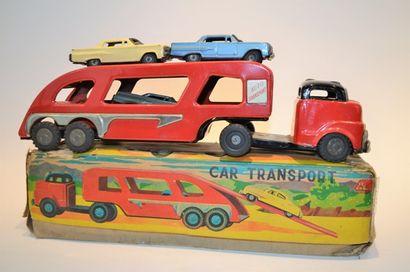 JAPAN ATC, car transport, tôle lithogrphiée,...
