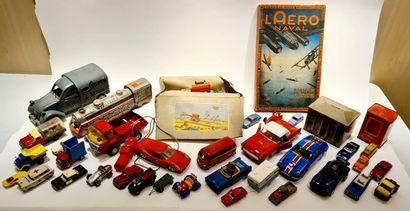 VARIA (35) : Lot de voitures diverses : jeu...