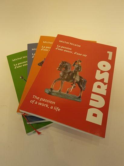 DURSO ensemble complet de quatre volumes...