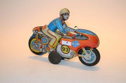 JAPAN moto à friction, tôle lithographiée,...