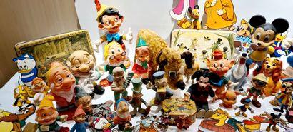 DISNEY (45 ) nombreuses figurines vintage,...