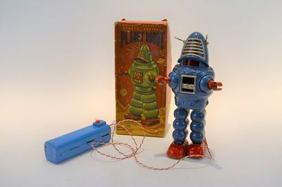 JAPAN KO Planet robot, battery operated,...