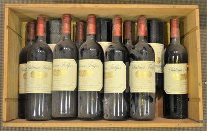 Château Falfas rouge 2007. Côtes de Bourg....