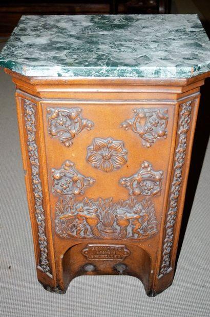 Fontaine à eau en céramique, plateau imitation...