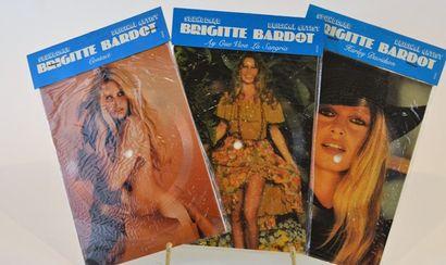 Ensemble de trois pictures disc Brigitte...