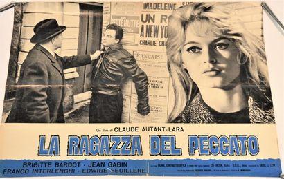 Affiche originale italienne du film de 1958...