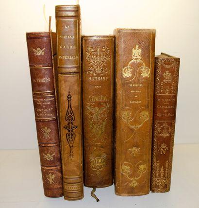Ensemble de cinq livres: MASSON Frédéric...
