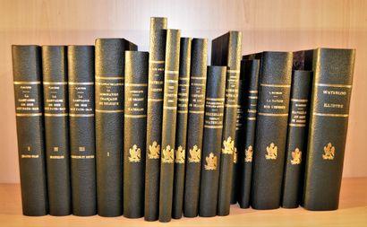 Ensemble de 15 livres    MERGET R.  Waterloo...