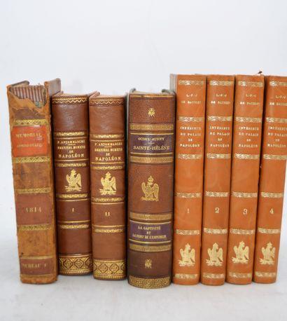 Ensemble de 8 livres:    L.F.J de BAUSSET,...