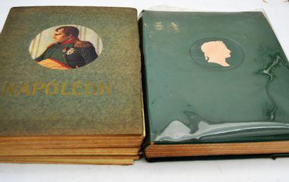 Deux livres:  Deux ouvrages sur Napoléon:...