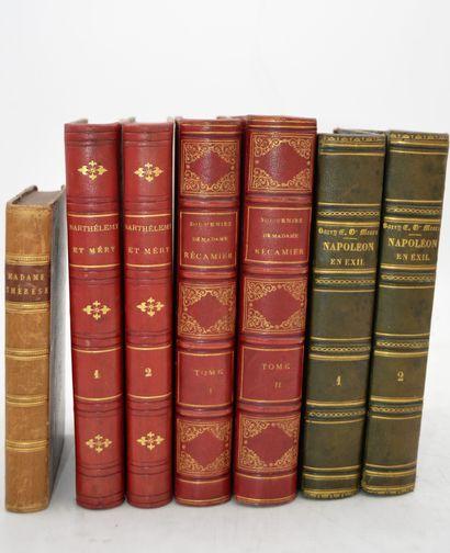 Ensemble de 7 livres:    ERCKMANN-CHATRIAN...