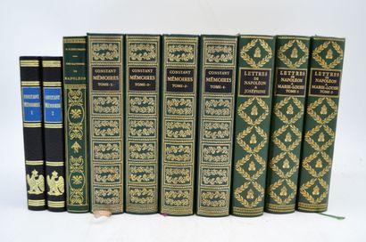 Ensemble de 10 livres:    FLEISCHMANN H....